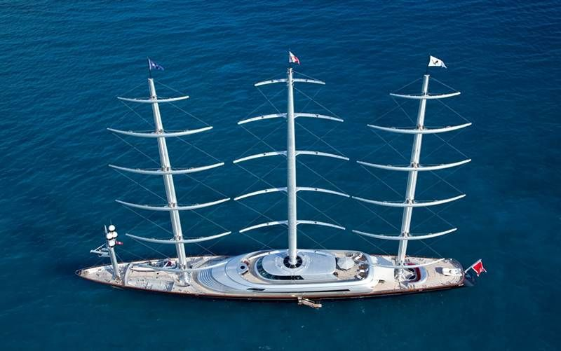 The Maltese Falcon Not 100 If I Love It Or Loathe It Sailing Yacht Luxury Sailing Yachts Sailing
