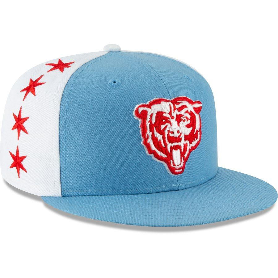 8a157a71 Chicago Bears New Era 2019 NFL Draft Spotlight 59FIFTY Fitted Hat ...