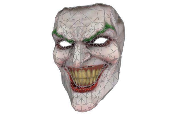Joker mask DC comics new