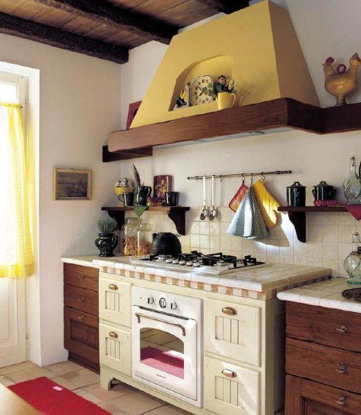 Cucina Con Camino Rp Ristrutturazioni E Arredamenti - Cucina Rustica ...