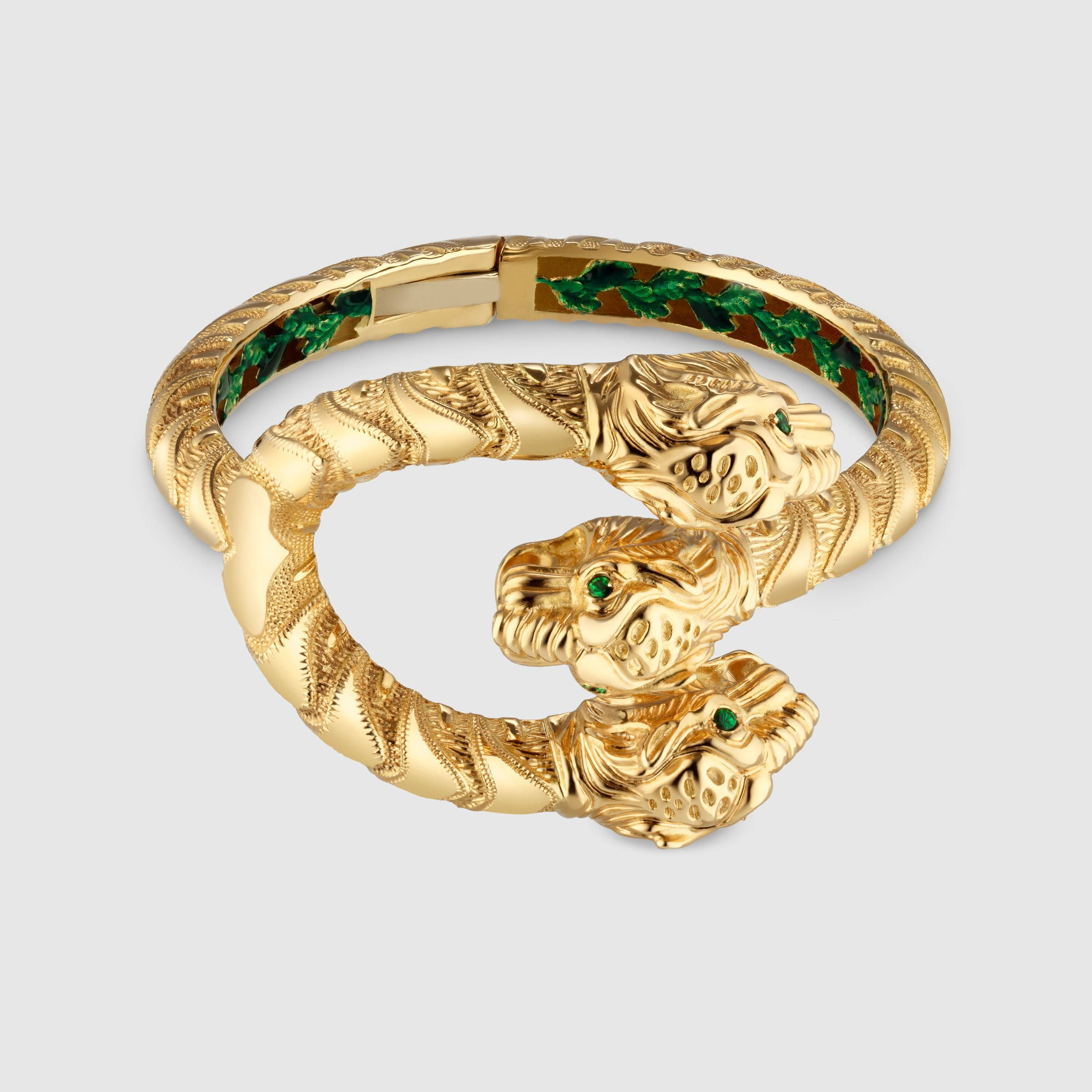 Gucci Dionysus yellow gold ring