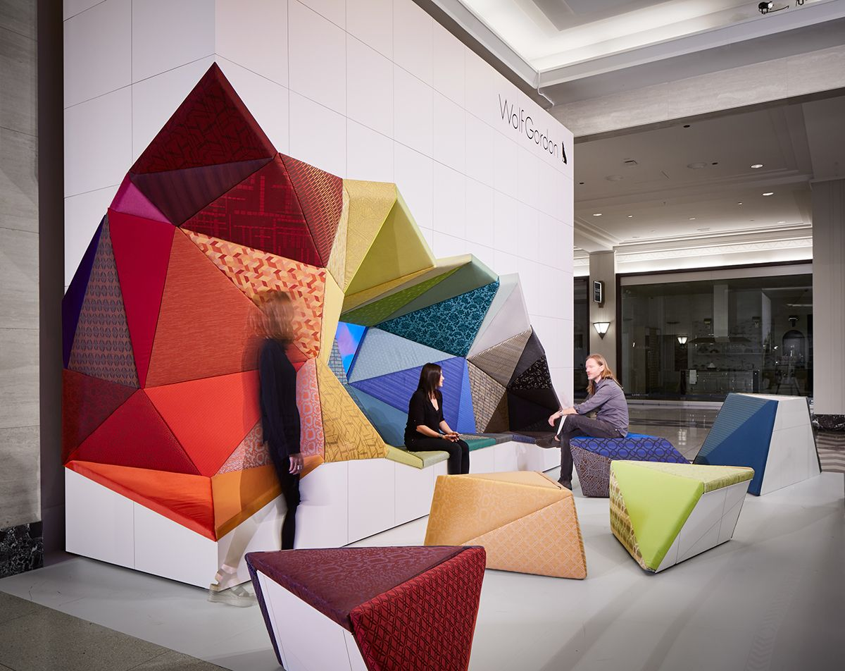 Office excavate puts the emphasis on wolf gordon s - Office furniture interior design ...