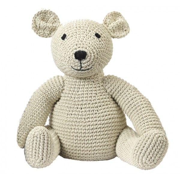 Mama Teddy ours en crochet pur coton - Anne Claire petit | Kid\'s ...