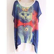 Camisa Gato Galaxy Store