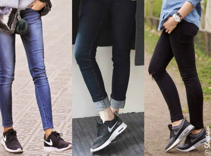Best Sneakers with Skinny Jeans for 2018 Dżinsy, trampki  Jeans, sneakers