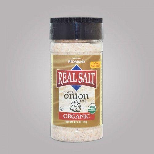 Real Salt Organic Onion Salt