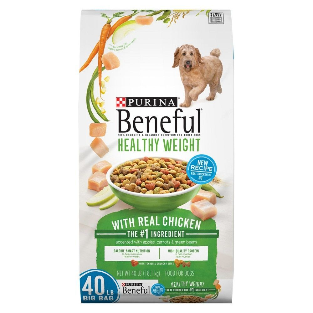 Purina Beneful Healthy Weight With Real Chicken Dry Dog Food 40 Lb
