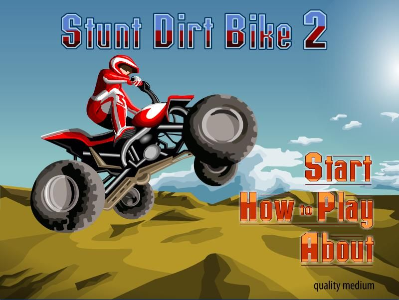 free dirt bike games online games