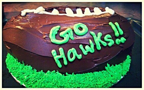 Superbowl - deflated football cake - lol