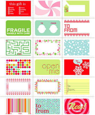 {Inspiration} 16 FREE Printable Christmas Tags » The Organised Housewife