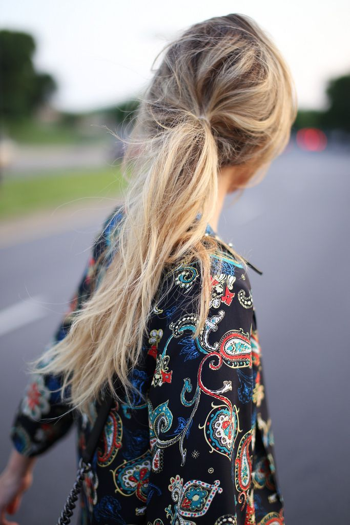 Get a #ponytail with little effort. #hair