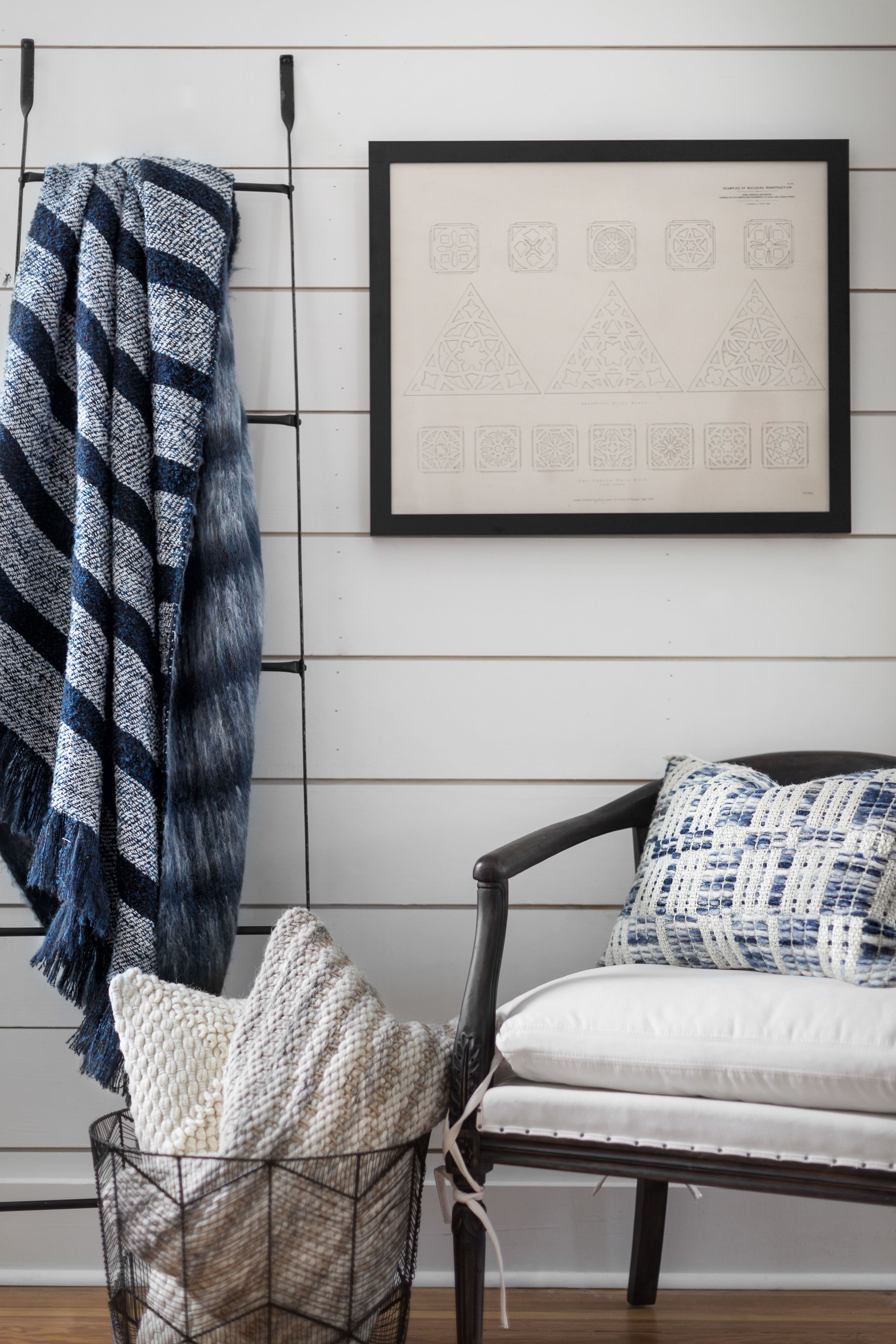 Our kind of blues Magnolia Home by Joanna Gaines pillows and