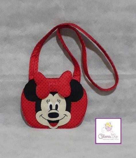 Bolsa Minnie com molde para impressão Ideias criativas para fazer em casa, Artesanato, decoração, Bricolagem, Corte e costura, ganhar dinheiro