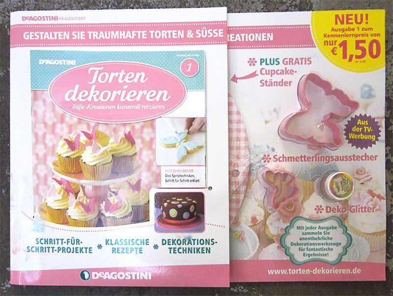 Zeitschrift Dekoration torten dekorieren ausgabe 1 tortendekorieren ausgabe 1 magazin