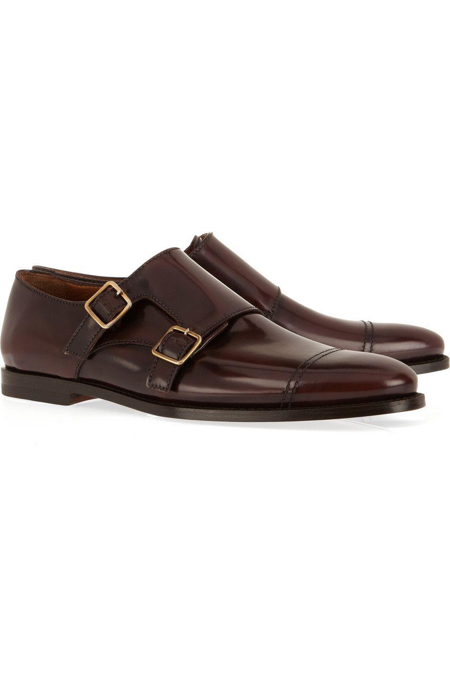 8c2ab211edd Burberry Double Monk Strap Shoes.