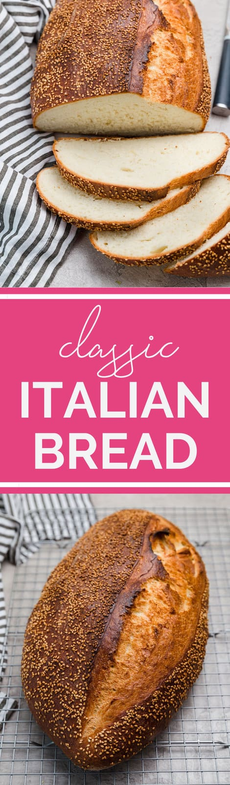 Italian Bread Recipe :: You won't believe how easy this ...