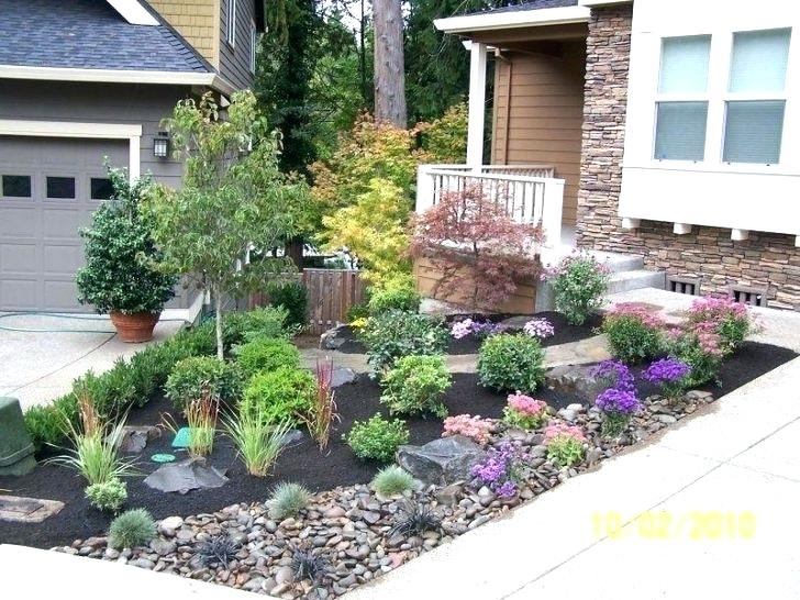 Small Front Yard Landscaping Ideas Townhouse Low Maintenance