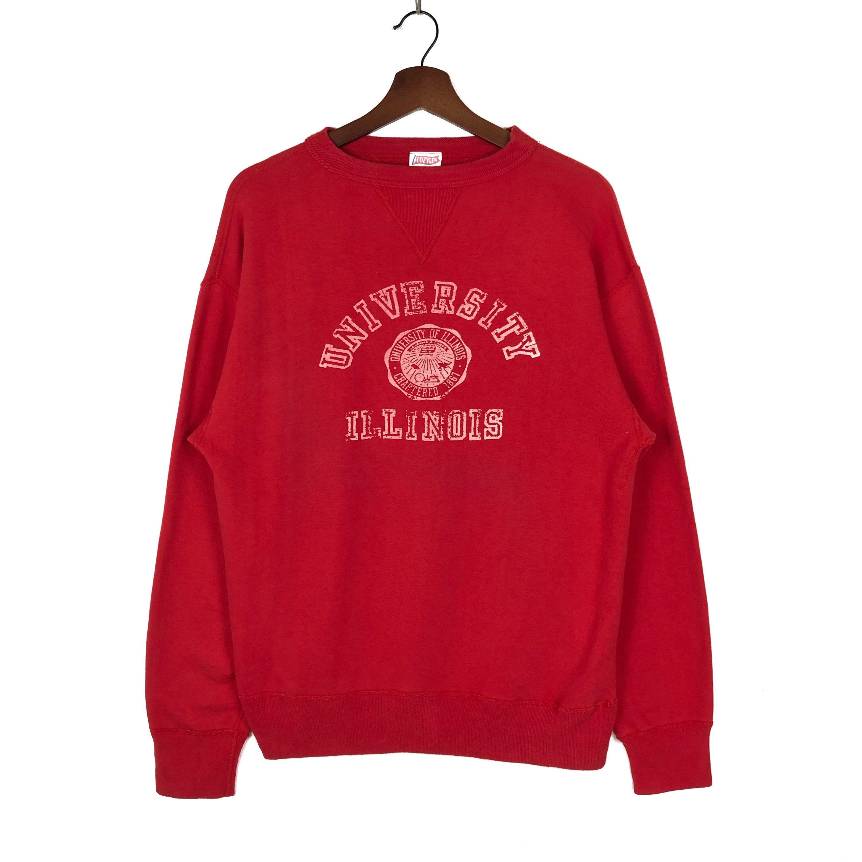 Vintage University Of Illinois Crewneck Sweatshirt Etsy Long Sleeve Sweatshirts Sweatshirts Retro Sweatshirts [ 3000 x 3000 Pixel ]