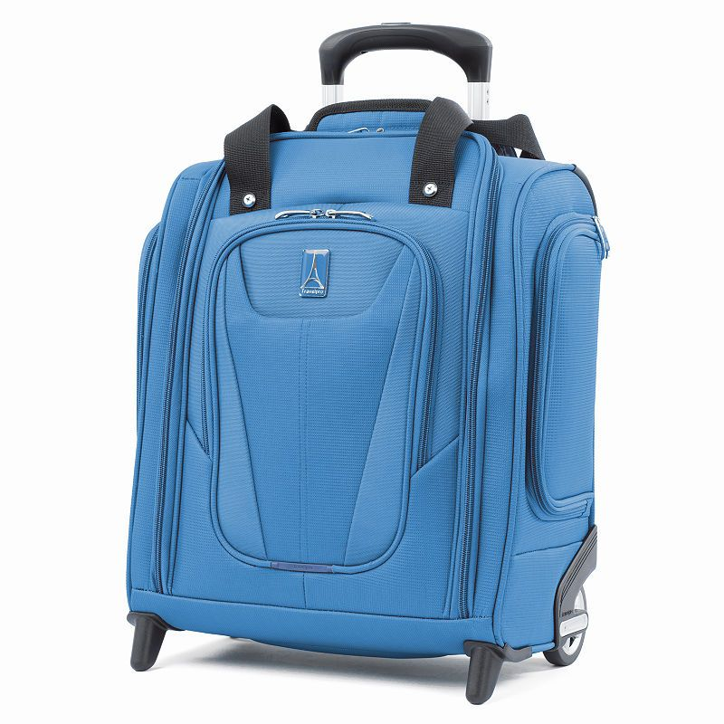 Black Pacific Coast Signature Underseat 15.5 Rolling Tote Carry-on