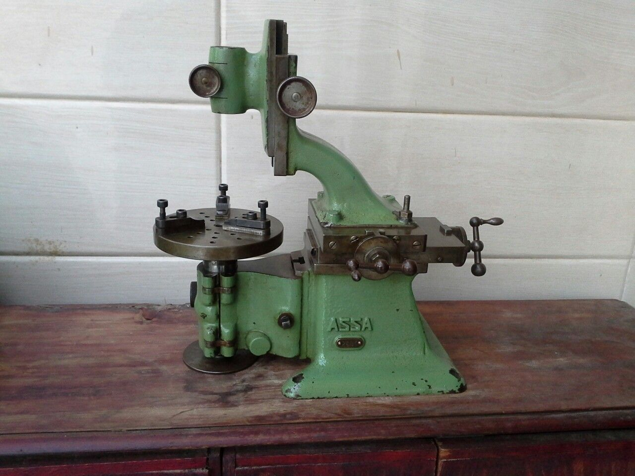 Jig Bore Rotary Table : My mini jig borer inch dia rotary table due for