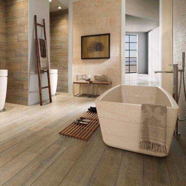 parquet et salle de bains font ils bon mnage - Peut On Mettre Du Parquet Dans Une Salle De Bain