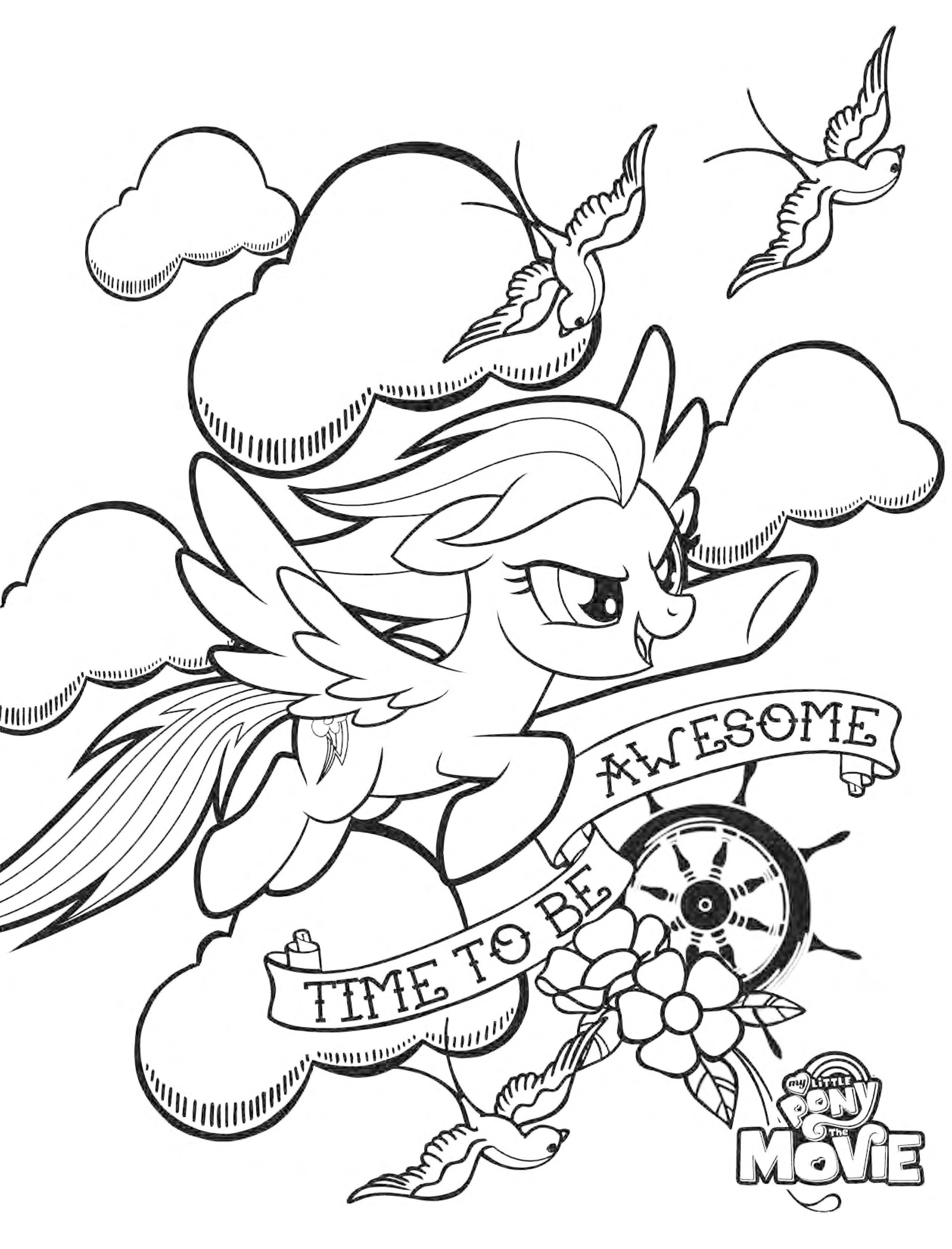 Pin By Chalane Sheffield On My Little Pony Coloring Pages