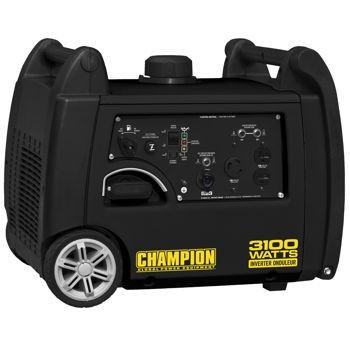 3100 Watt Champion Generator Maximum Wattage 3 100 W Model 75555i Quiet Lightweight And Porta Gas Generator Inverter Generator Portable Inverter Generator