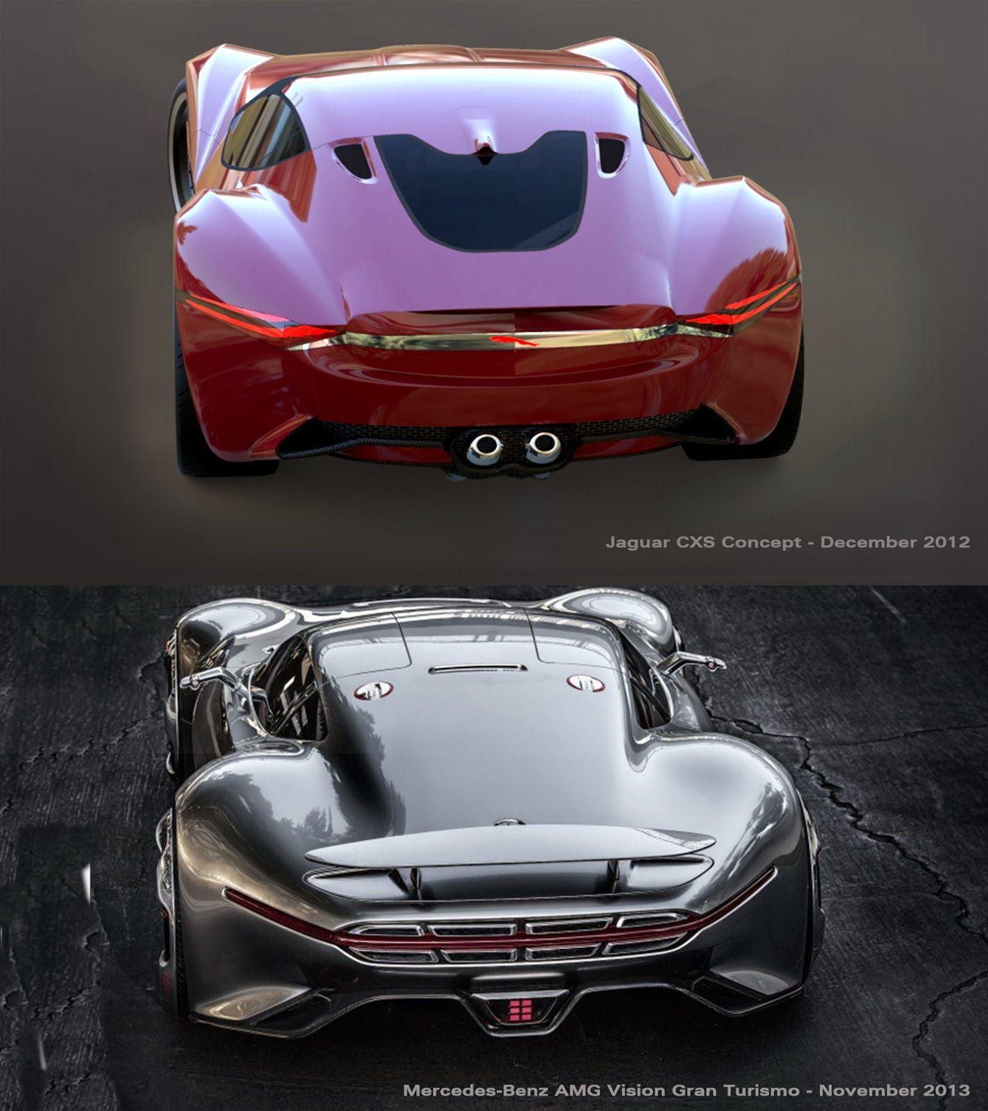 Jaguar Concept: Jaguar CXS Concept Vs Mercedes-Benz AMG GT WWW.CLUBGTSPORT