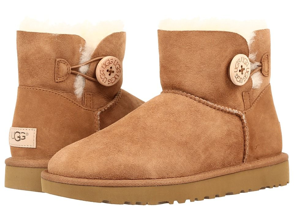 dbf6aa46321 UGG Mini Bailey Button II Women's Boots Chestnut | Products | Uggs ...
