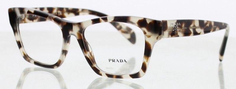 Lunette de vue PRADA PR-22SV UAO1O1 femme - prix 175€ - KelOptic ... ca2ab9ea76ed