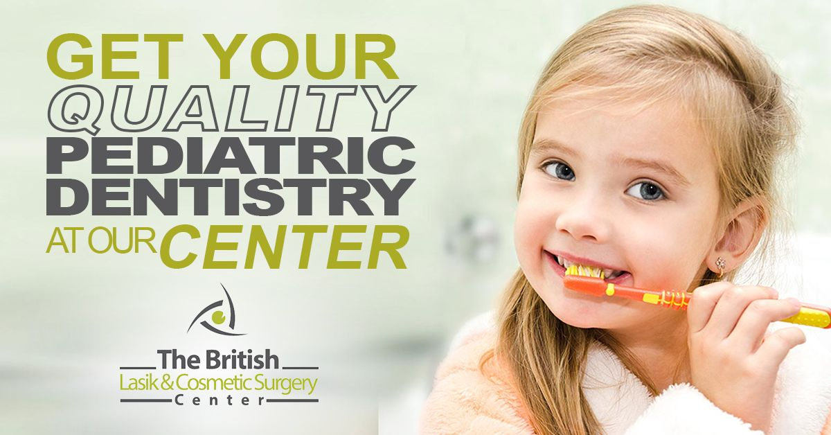 Brisitish Lasik Facebook Ad Web Banner Design Pediatric Dentistry Web Banner