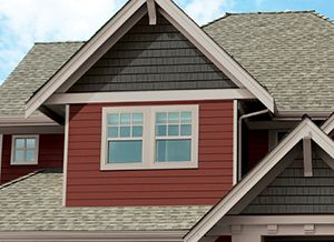 Two Tone House Colors House Exterior House Siding