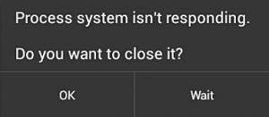 Fix Process System Isn T Responding Error Message System Messages