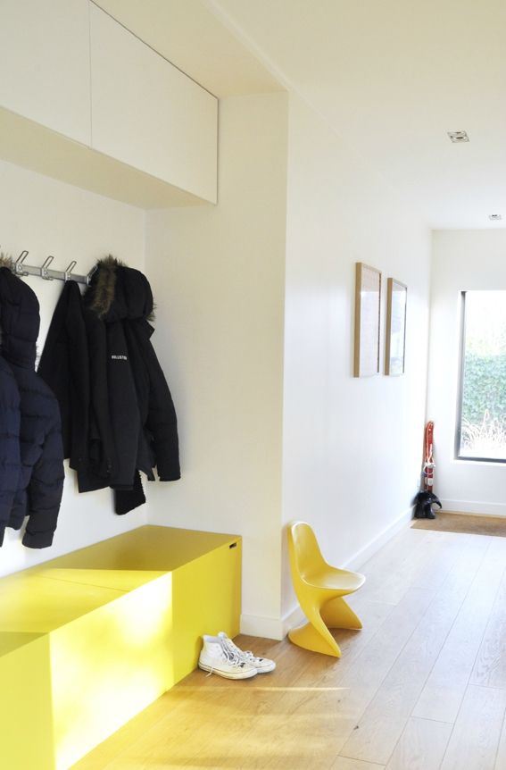Mon nouveau vestiaire - coach deco Lille Hall, Salons and Desk shelves - porte coulissantes sur mesure