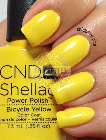 Folkekære CND Bicycle Yellow | schoonheid - Nagels, Lippen en Schoonheid LZ-46