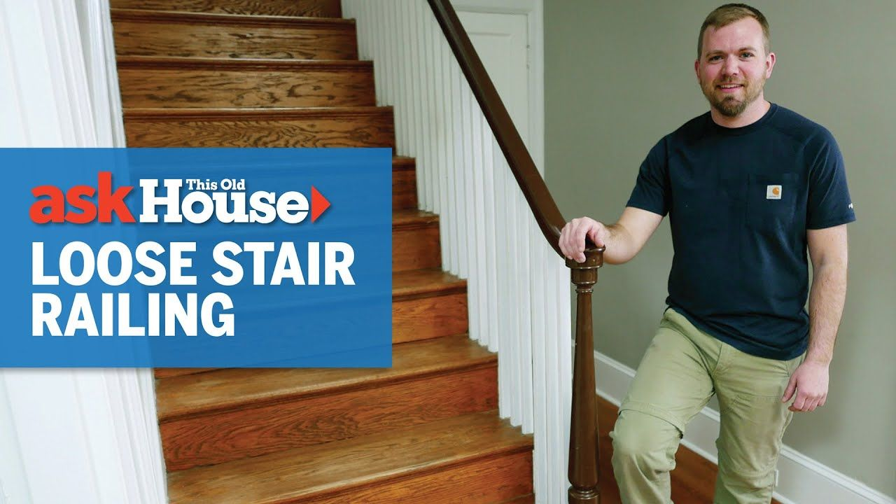 Best How To Tighten A Loose Newel Post Ask This Old House 400 x 300