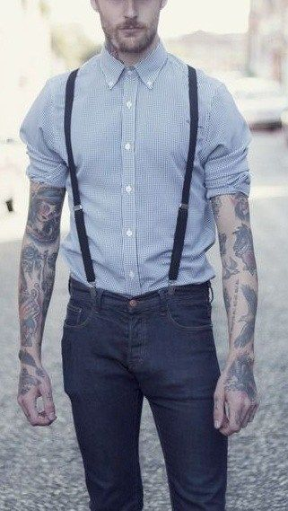 Fashion Pinterest Men's Ultimate Guide Suspender Mens The 0AIv4w