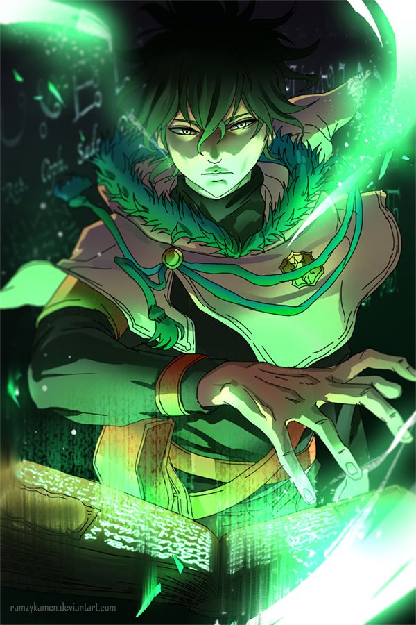 Black Clover Yuno Personagens De Anime Arte Anime Animes