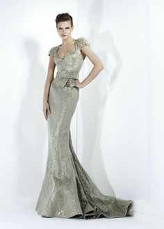 Zuhair Murad Ready To Wear Fall Winter Flip Zone Find This Pin And More On Silver Wedding Dress
