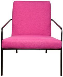 lodging fucshia chair. abc home. $395