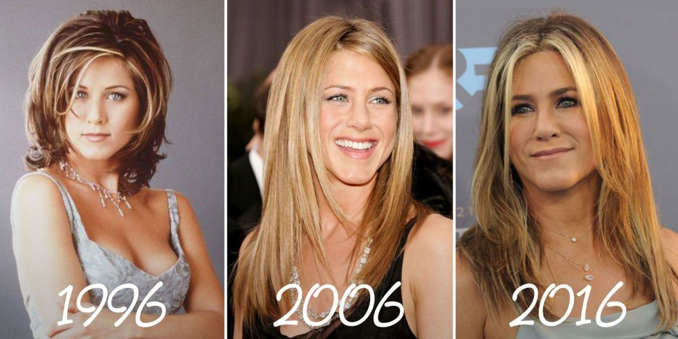 Lets Stop And Appreciate Jennifer Anistons Hair Throughout The Years