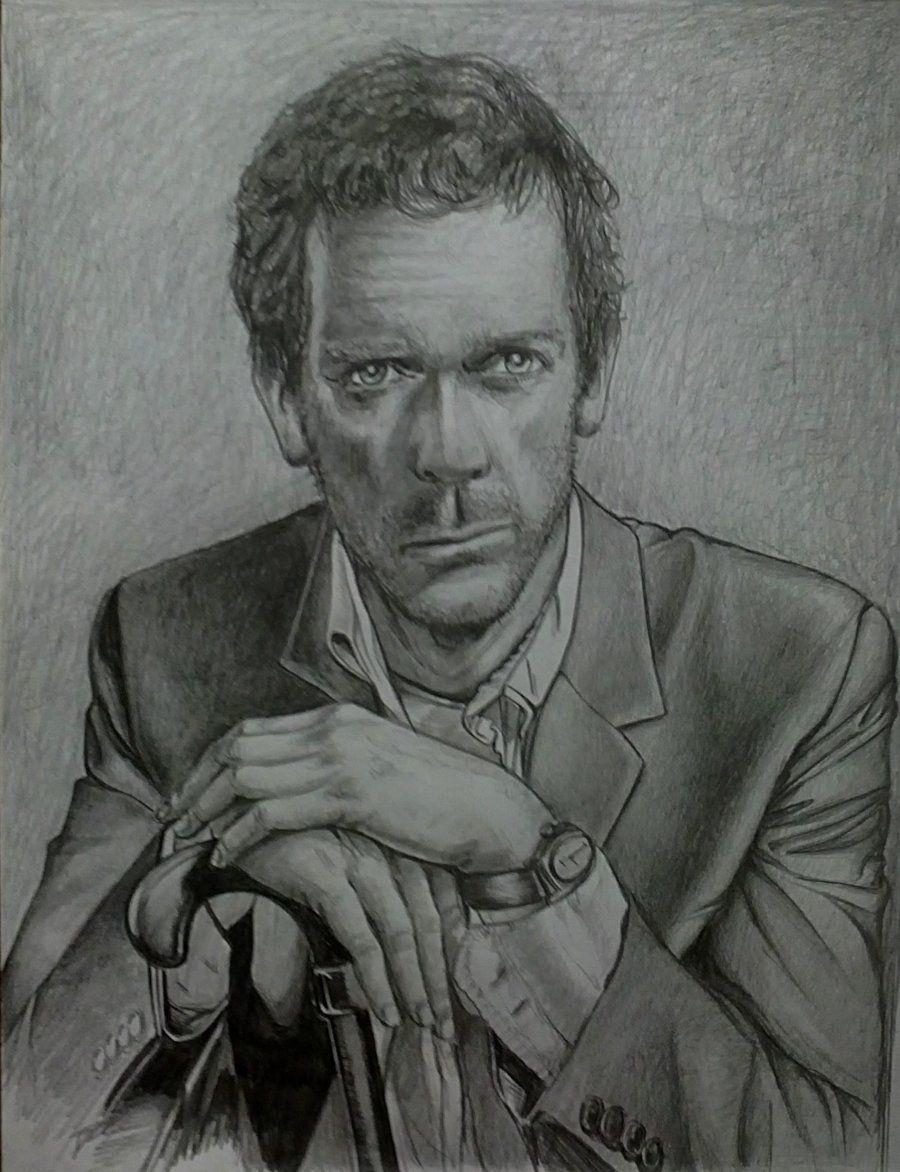 dr house portrait by ultraseven81 on DeviantArt