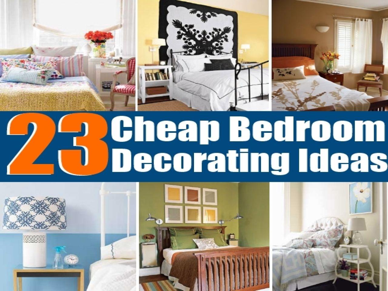 Cheap Bedroom Decorating Ideas | Cheap Diy Bedroom Decorating Ideas Www Tollebild Com