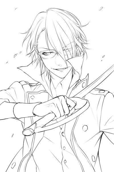 Fushimi Saruhiko 1705820 Zerochan K Project K Project Anime Sketch Inspiration