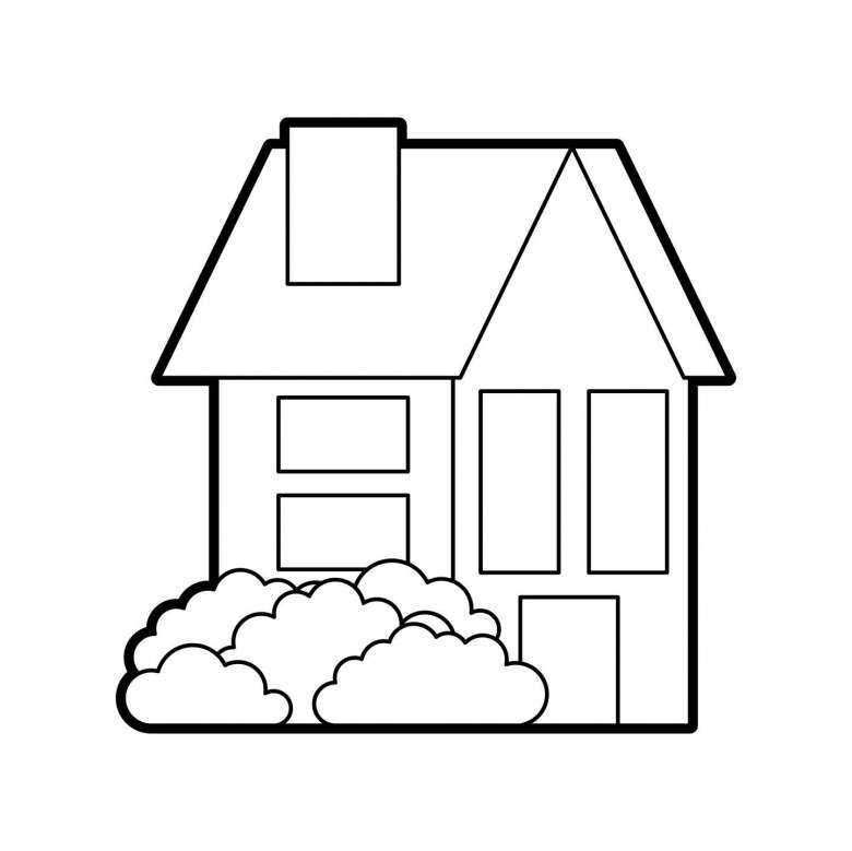 Casa Da Disegnare E Colorare Disegni Disegni Facili Disegni Da Colorare