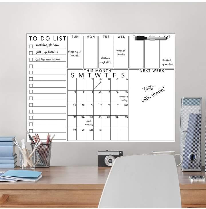 Wallpops White Off White Get Organized Message Board Hautelook Wall Board White Board Getting Organized