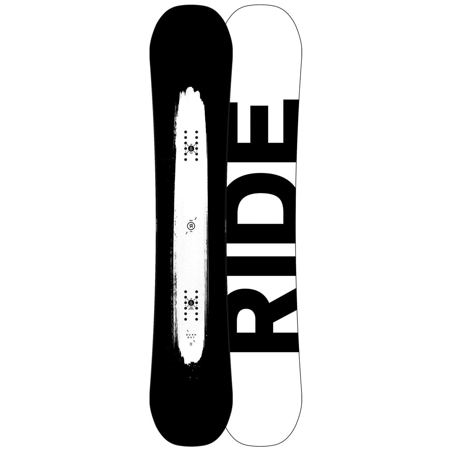 Ride Burnout Snowboard 2018 In 2020