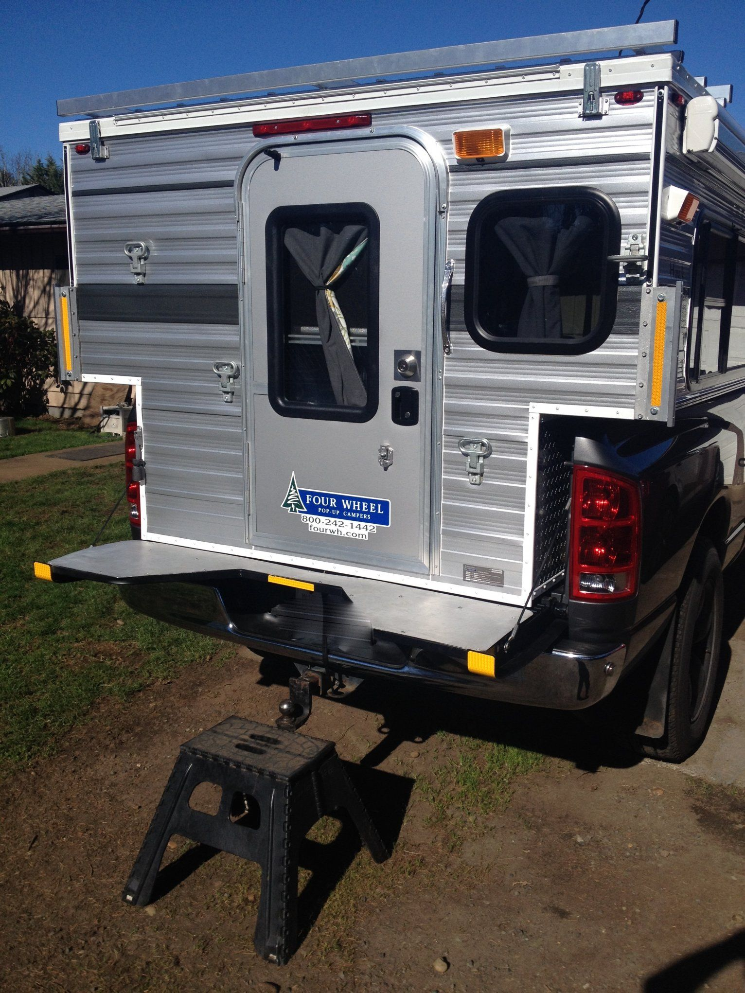 Hawk With Fifth Wheel Tailgate Cutout In The Center Works Great For Access Through Door Wings Like A Table