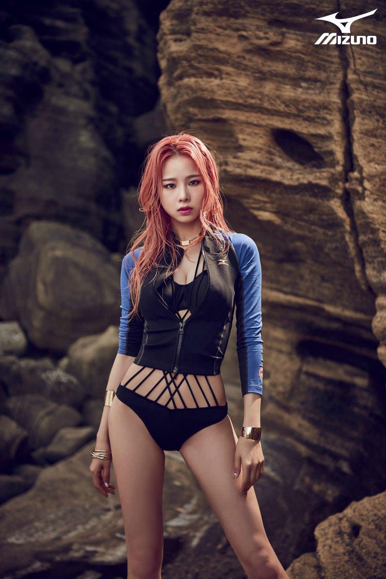 Solji - EXID - Mizuno S/S 2015 | Solji | Korean girl, Kpop ...