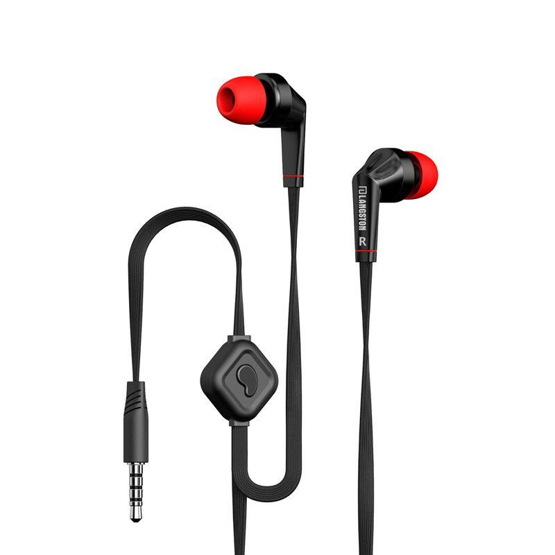 Langsdom Bass 3.5mm Earbuds Earphone with Built-in